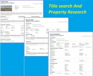 Objective of Title Search and Title Indexing 1